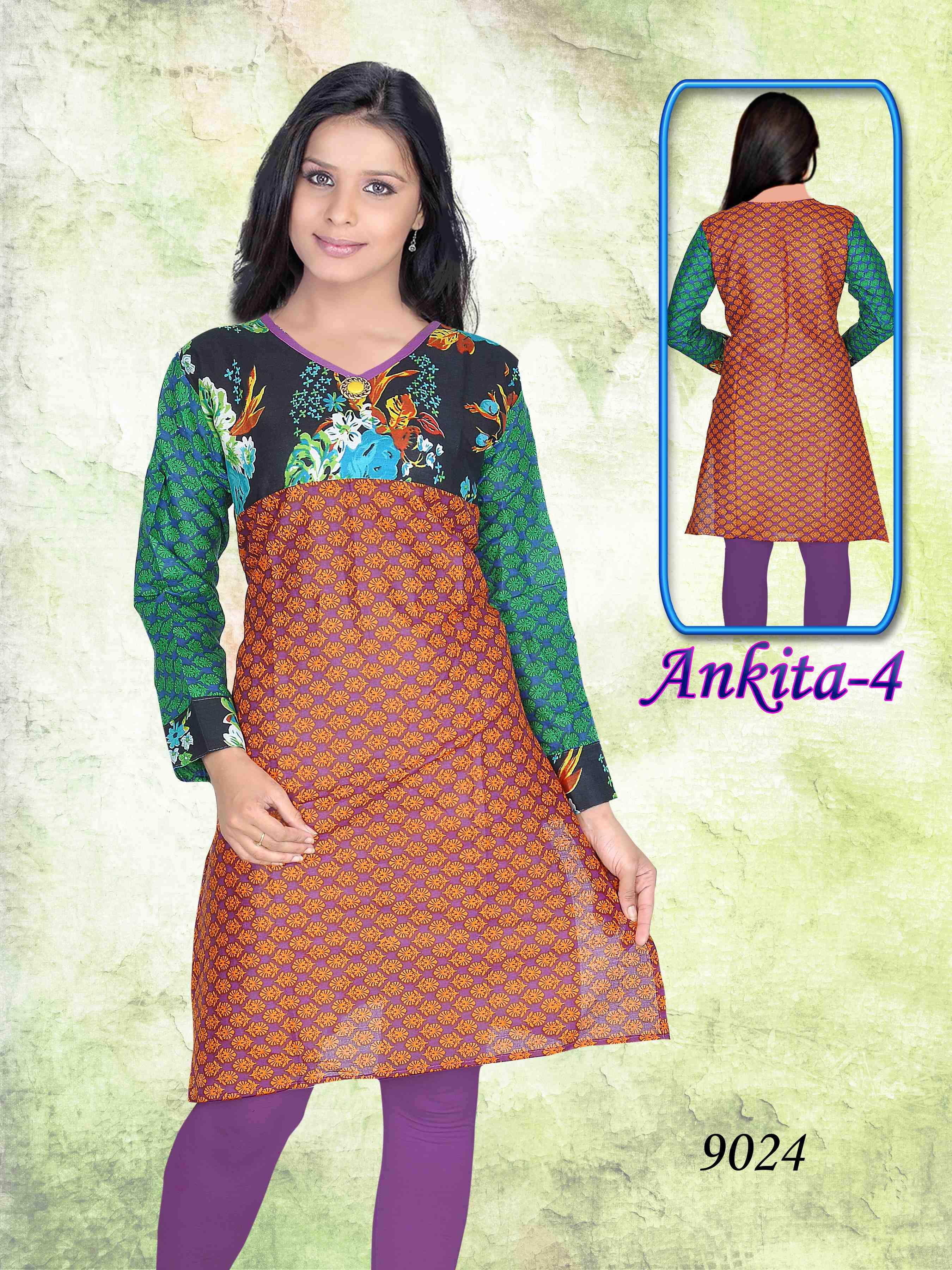 Ankita Vol 04 Jaipuri Kurtis 14 Pieces Biznet